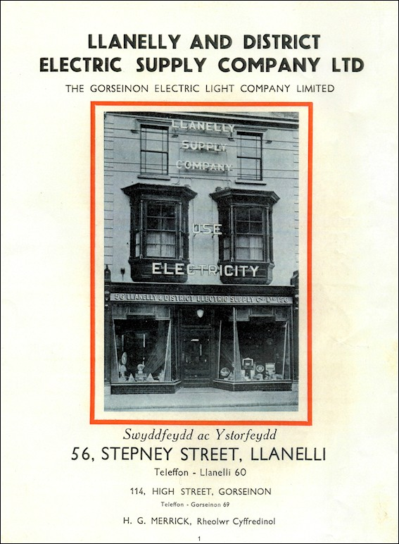 The Llanelly Electric Supply Company