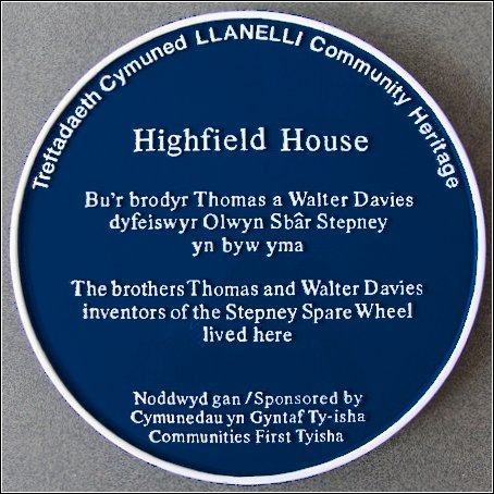 Highfield House and the Stepney Spare Wheel