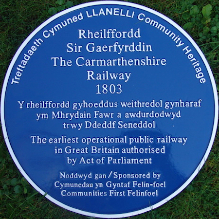 Carmarthenshire Railway or Tramway