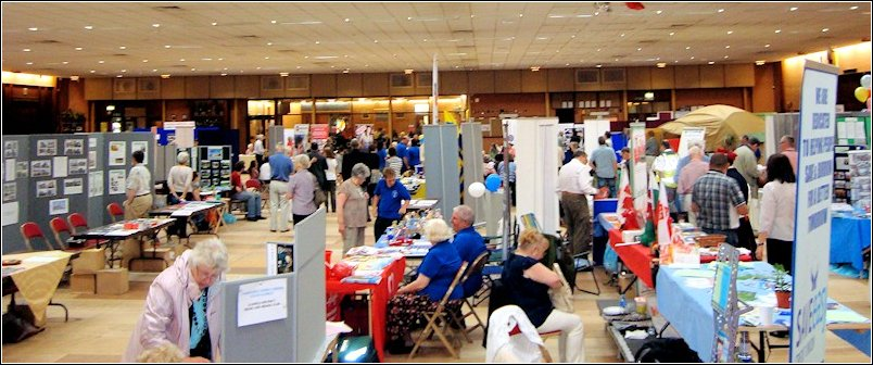 Llanelli Festival 2012 view of the Selwyn Samuel Centre from the LCH stand