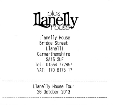 Llanelly House Tour