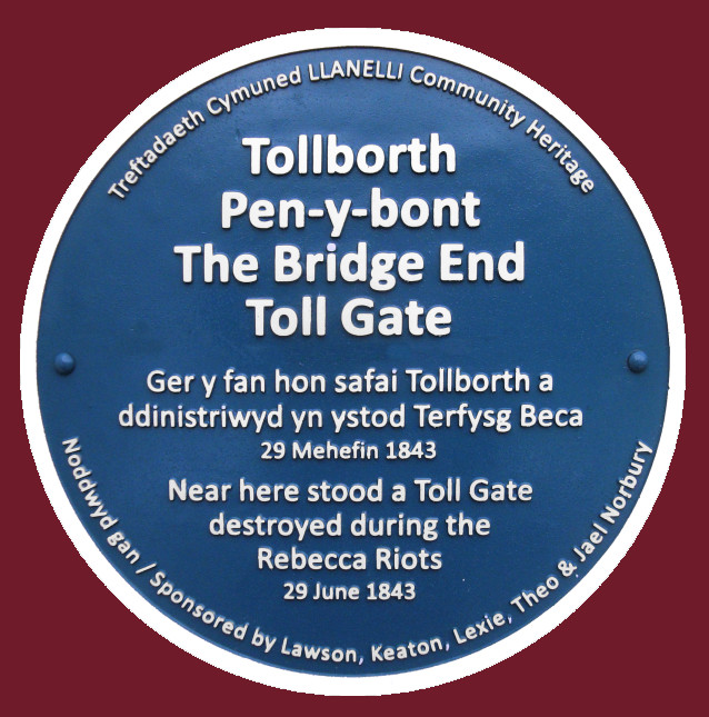 Bridge End Toll Gate