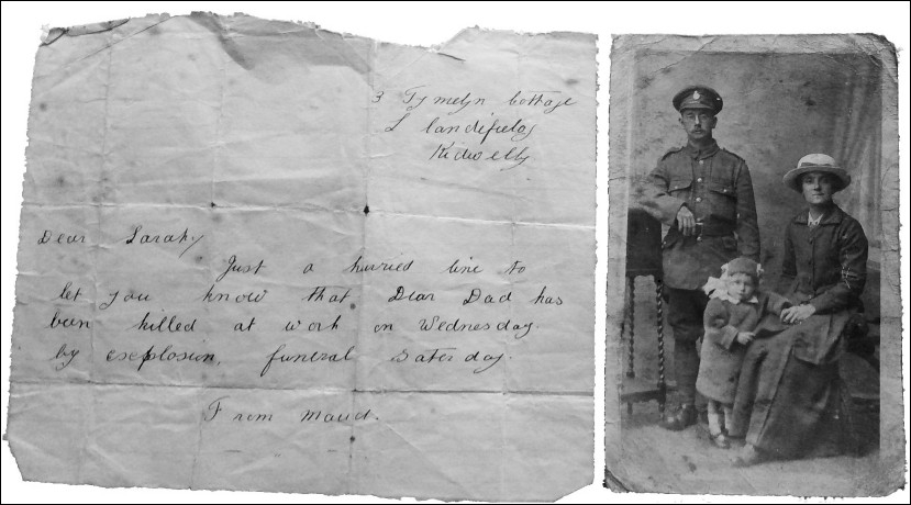 Letter and Photo re George Buck