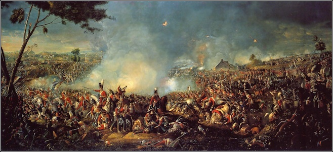 LCH0121 Battle of Waterloo 1815 a