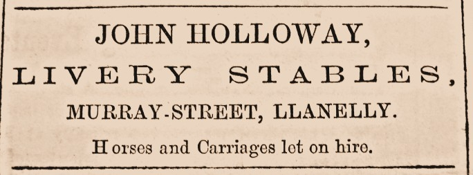 Holloway advertisment 1871