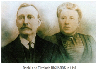 Daniel and Elizabeth Richards 1918